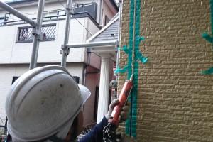 外壁のコーキング打替-さいたま市南区、KA様(外壁塗装、屋根塗装、コーキング打替)