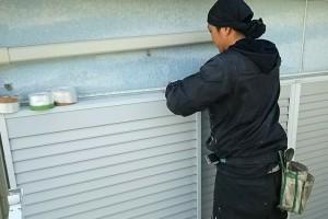外壁塗装、屋根塗装のための養生-さいたま市緑区SA様邸