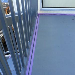 鉄骨階段塗装が完工-さいたま市北区Kアパート