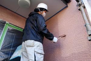 外壁塗装が完了-さいたま市南区K様邸