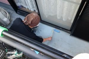 大屋根塗装が完了-さいたま市南区K様邸