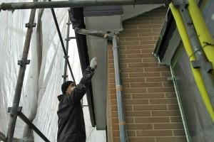 屋根塗装、軒天・破風・鼻隠・樋塗装-さいたま市見沼区、Y様邸