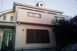足場の撤去が終わり、塗装工事が完了-さいたま市見沼区Y様邸