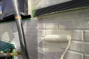 外壁塗装と屋根塗装-さいたま市見沼区、Y様邸(屋根塗装、外壁塗装、ベランダ防水工事)