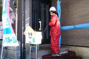 高圧洗浄-さいたま市見沼区Y様(屋根塗装、外壁塗装、ベランダ防水塗装、コーキング打替)