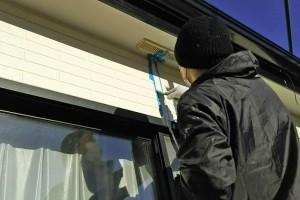 コーキングの打替と樋塗装-さいたま市見沼区、Y様邸(屋根塗装、外壁塗装、ベランダ防水工事)