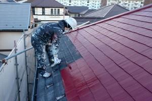 屋根塗装、外壁塗装-さいたま市見沼区Y様(屋根塗装、外壁塗装、ベランダ防水塗装、コーキング打替)