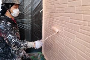 外壁塗装と、破風・鼻隠と樋の塗装-さいたま市見沼区Y様(屋根塗装、外壁塗装、ベランダ防水塗装、コーキング打替)