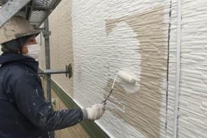 さいたま市見沼区YO様邸で破風塗装と軒天塗装、外壁塗装