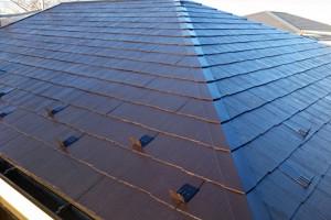 さいたま市緑区のKA様邸で屋根塗装と外壁塗装