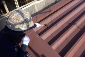 さいたま市見沼区のY様邸で屋根塗装が完了しました。塗料はエスケー化研株式会社のクールタイトシリコンです。