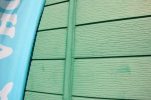 さいたま市北区の店舗で外壁塗装の見積説明
