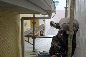 外壁塗装と樋塗装