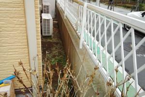 さいたま市中央区のW様邸の塀塗装の見積作成中