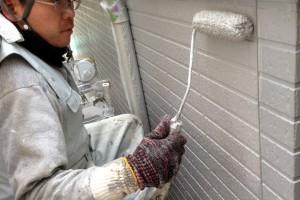さいたま市南区のS様邸で、外壁塗装とモール塗装