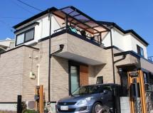 さいたま市中央区で屋根/遮熱塗装&外壁/UVプロテクト・クリアー塗装の施工例