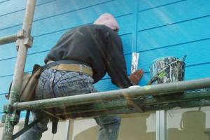 さいたま市北区でカーショップの外壁塗装が完了