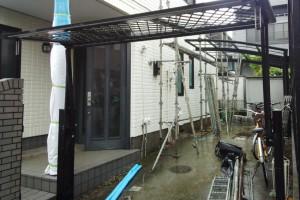 さいたま市見沼区、SA様邸の外壁塗装で足場解体