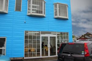 さいたま市北区でカーショップの外壁塗装工事が完了