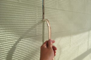 蓮田市のK様邸で外壁のコーキング打替と屋根プライマー塗装の完了