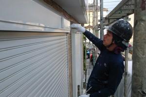 上尾市のH様邸で外壁塗装と樋塗装