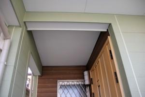 蓮田市のK様邸で外壁塗装が完了し足場の解体