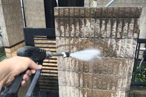さいたま市北区でK様の外壁塗装と屋根塗装のための高圧洗浄