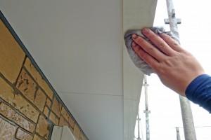 上尾市のH様邸で全ての塗装が完了