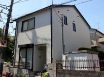 高遮熱屋根塗装、窯業系サイディング外壁塗装、コーキング打替の施工例