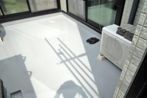 さいたま市見沼区のK様邸で屋上防水が完了し補助金申請