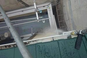 さいたま市大宮区のI様邸で外壁塗装のための高圧洗浄