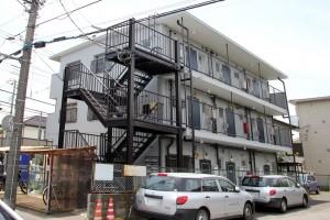 さいたま市北区の賃貸マンションの外壁塗装工事完了報告