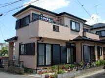 さいたま市北区のK様邸で屋根塗装と外壁塗装の施工例