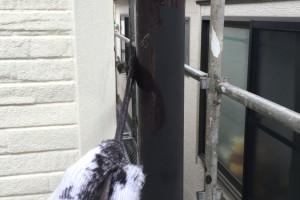 さいたま市桜区、M様邸で外壁塗装の補修他