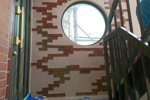 さいたま市西区、S様の複合ビルで外壁塗装と階段の鉄部塗装