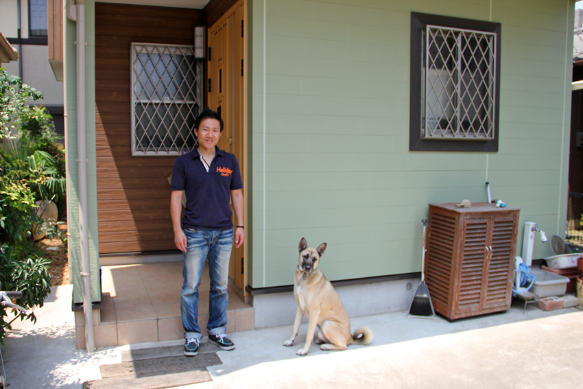 屋根塗装と外壁塗装(ツートンカラー仕様)