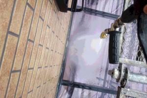 さいたま市南区のY様邸で外壁塗装のための高圧洗浄