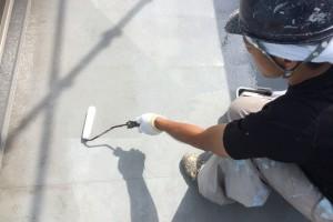 さいたま市大宮区のS様邸で外壁塗装の工程が完了