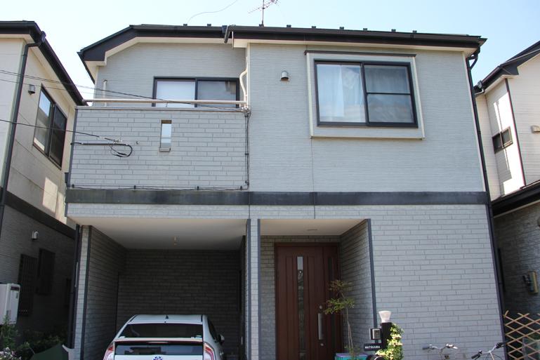 断熱塗料ガイナによる屋根塗装と外壁塗装