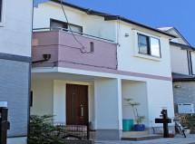 さいたま市桜区で、断熱塗料ガイナによる屋根塗装と外壁塗装の施工例