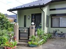 さいたま市緑区で、屋根塗装(遮熱)と外壁塗装、コーキング打替とベランダトップコートの施工例