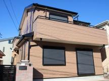 さいたま市西区で屋根塗装(遮熱)と外壁塗装(クリア塗装)ベランダ防水トップコートの施工例