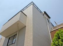 さいたま市北区で屋上遮熱ウレタン塗膜防水、外壁塗装、コーキング打替の施工例