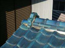 屋根瓦 漆喰補修