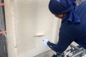 さいたま市西区、K様邸で外壁塗装が完了