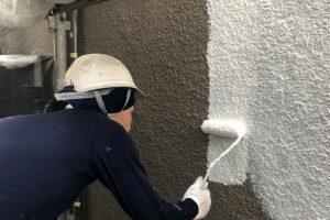 さいたま市北区、S様のSビルで外壁塗装と養生