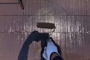 さいたま市西区、K様邸は屋根塗装と外壁塗装が順調