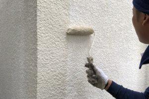 さいたま市西区、K様邸で外壁塗装と庇取付
