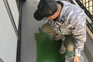 さいたま市浦和区、S様邸で屋根塗装と外壁塗装の工程が完了