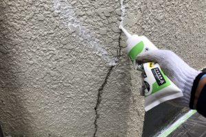 さいたま市西区、K様邸で屋根塗装と外壁塗装のための足場を解体
